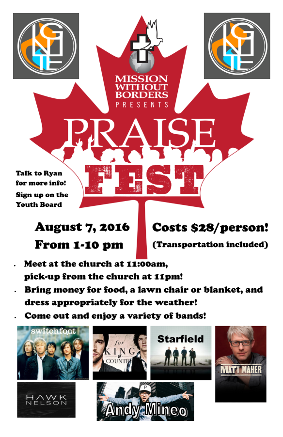Praisefest Poster